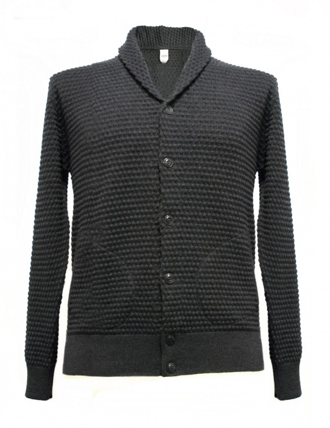 GRP anthracite cardigan with frontal pockets SFTEC2-V-ANT mens cardigans online shopping