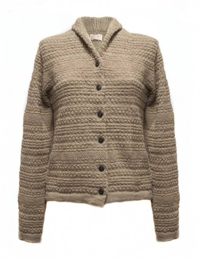 Cardigan Casa Isaac colore beige AC3-BIS-W-B cardigan donna online shopping