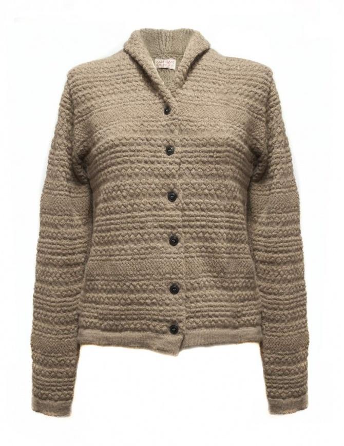Casa Isaac light brown cardigan AC3-BIS-W-B womens cardigans online shopping