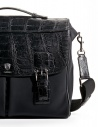 Alligator black leather Tardini briefcase shop online bags