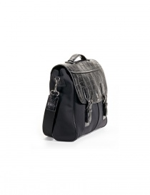 Alligator black leather Tardini briefcase price