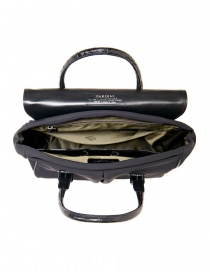 Alligator black leather Tardini shopper briefcase price