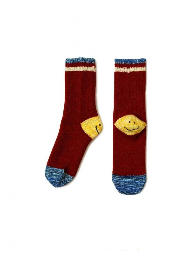 Kapital red socks EK-415-RED socks online shopping