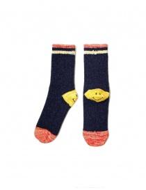Kapital navy socks EK-415-NAVY