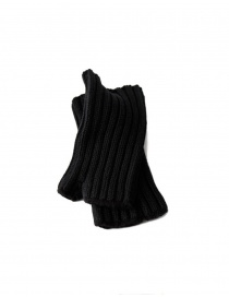 Gloves online: Kapital black glove