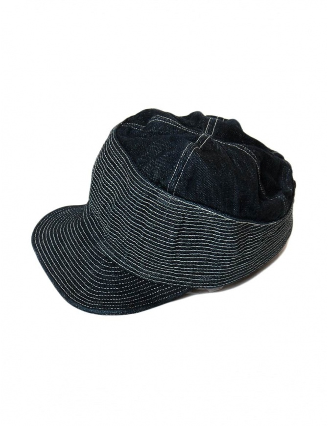 Cappello Kapital colore navy EK-348 12OZ