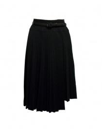 Il by Saori Komatsu black skirt online