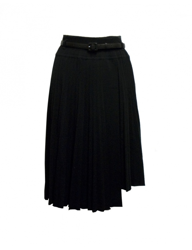 Il by Saori Komatsu black skirt 193-424 BLK womens skirts online shopping