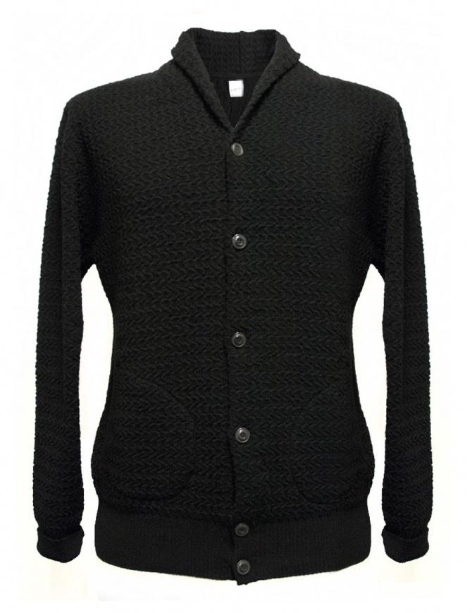 Cardigan GRP colore nero SFTEC19-V-NE cardigan uomo online shopping