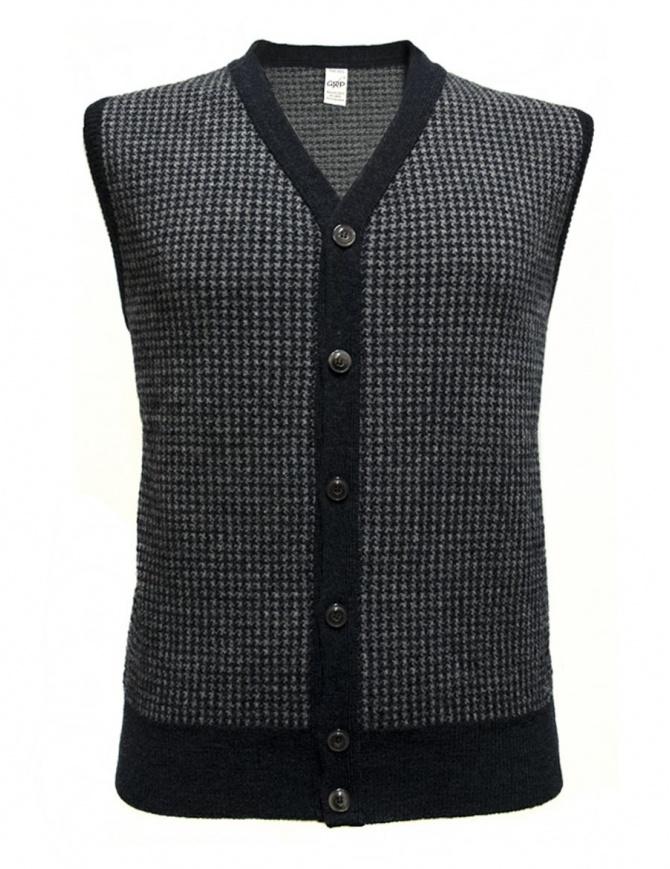 Gilet GRP colore blu e grigio SFTEC20-VBLU gilet uomo online shopping