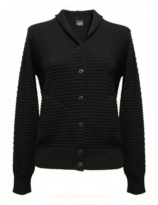 Cardigan GRP colore nero SFTEC2-W-NER cardigan donna online shopping