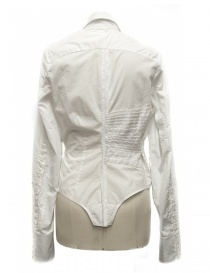 Marc Le Bihan white asymmetrical shirt