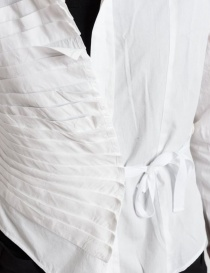 Camicia asimmetrica Marc Le Bihan colore bianco prezzo