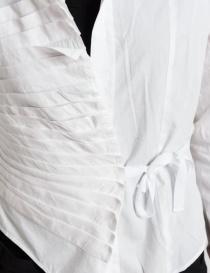 Marc Le Bihan white asymmetrical shirt price
