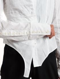 Marc Le Bihan white asymmetrical shirt womens shirts buy online