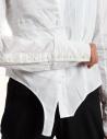 Marc Le Bihan white asymmetrical shirt 26602 buy online