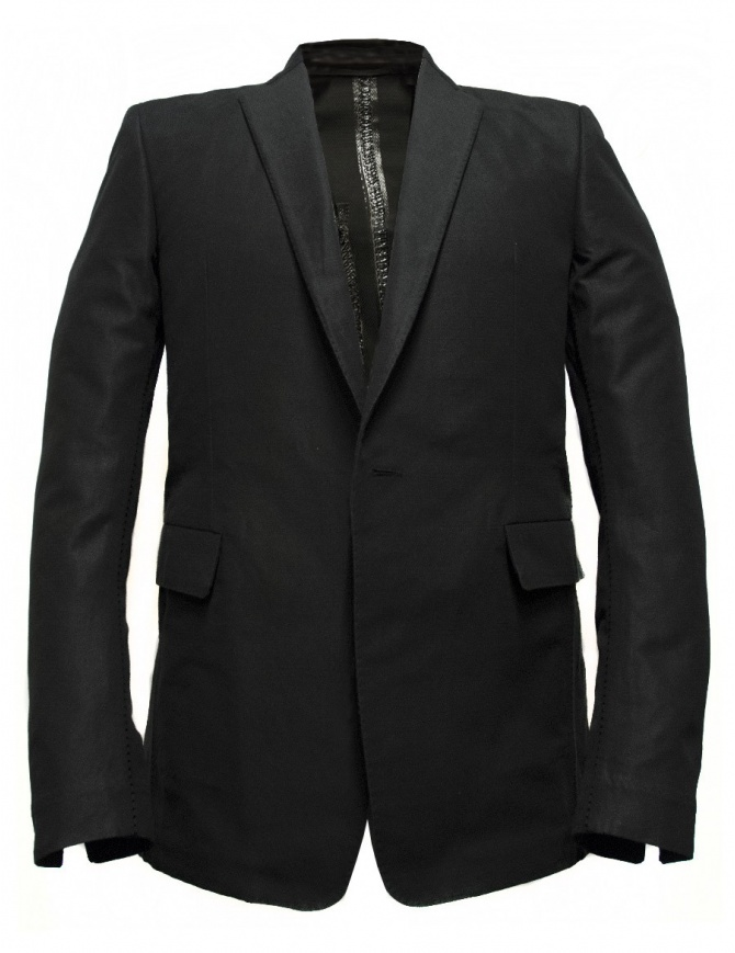 Carol Christian Poell Scarstitched black suit jacket GM/2621B LINKS/10 mens suit jackets online shopping