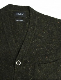 Cardigan Howlin' by Morrison colore verde acquista online
