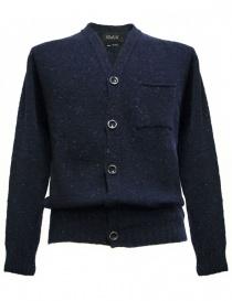Mens cardigans online: Howlin' by Morrison navy blue cardigan