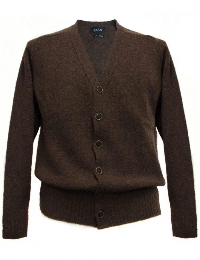 Howlin' by Morrison ebony cardigan WILL-ON-THE- mens cardigans online shopping