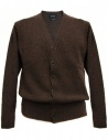Cardigan Howlin' by Morrison colore ebano acquista online WILL-ON-THE-