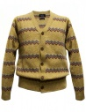 Cardigan Howlin' by Morrison colore giallo acquista online HAPPY CLAPPY SUNSHINE