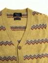 Cardigan Howlin' by Morrison colore giallo HAPPY CLAPPY SUNSHINE prezzo