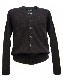 Mens cardigans online: Howlin' by Morrison brown cardigan