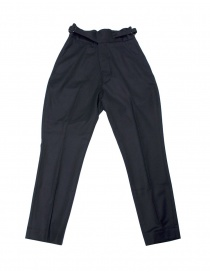 Womens trousers online: Haversack navy trousers