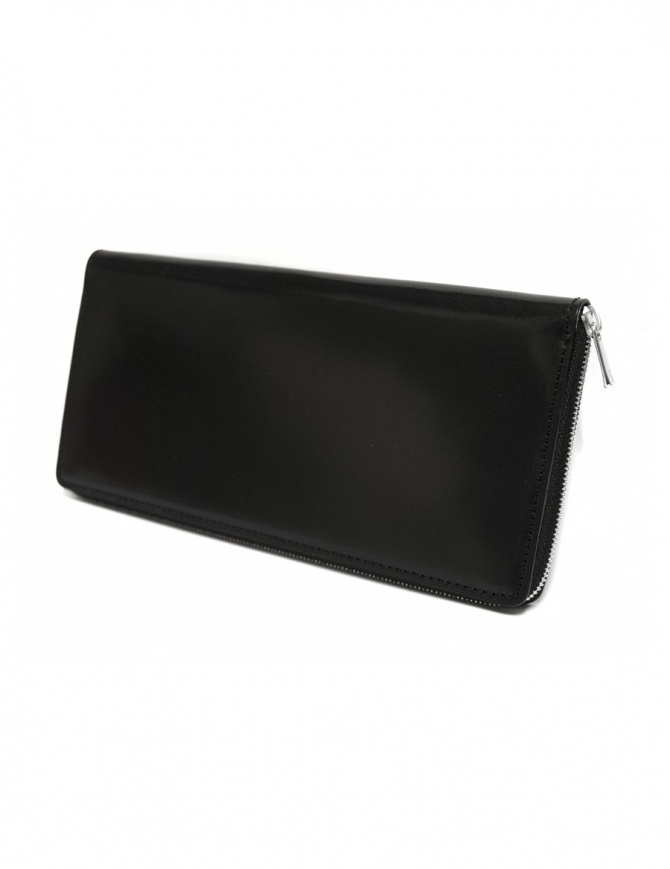 Ptah Fuukin black leather wallet PT150301 BLK