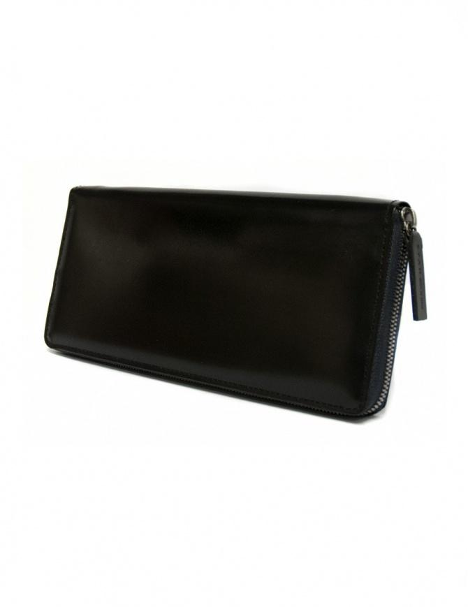 Portafoglio Ptah in pelle nera navy PT150503-NAV portafogli online shopping