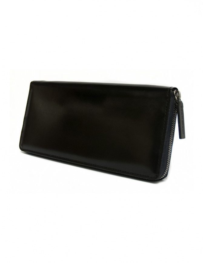 Ptah black navy leather wallet PT150503 NAVY wallets online shopping