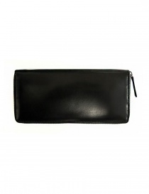 Ptah black navy leather wallet price