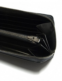 Ptah black navy leather wallet wallets buy online
