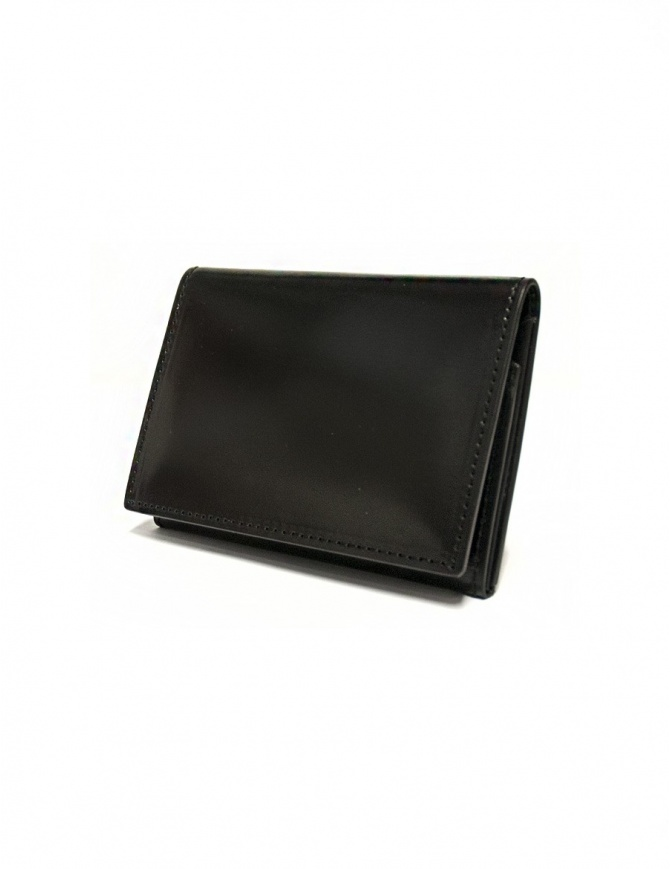 Ptah Fuukin black leather business card holder PT150303 BLK wallets online shopping
