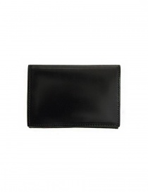 Ptah Fuukin black leather business card holder price