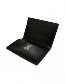 Porta carte business Ptah Fuukin in pelle nera portafogli acquista online