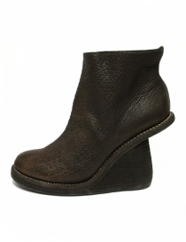 Stivaletto Guidi 6006 in pelle marrone acquista online