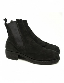 Guidi 76Z black suede leather ankle boots 76Z-BABY-CAL
