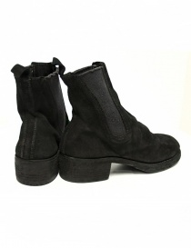Guidi 76Z black suede leather ankle boots buy online