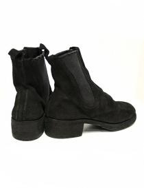 Stivaletto Guidi 76Z in pelle scamosciata nera acquista online