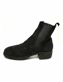 Guidi 76Z black suede leather ankle boots price