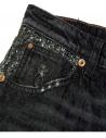 Jeans Shiny Boy Carrot Avantgardenim SHINY BLACK prezzo
