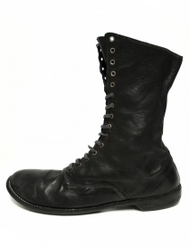 Guidi 212 black leather ankle boots buy online