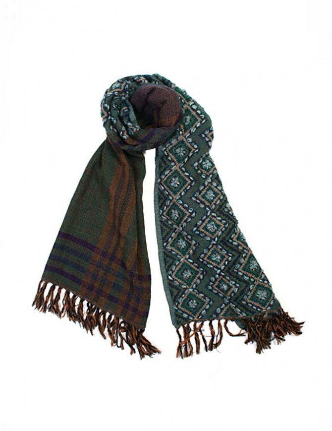As Know As AsZacca green scarf ZU0532 GREEN scarves online shopping