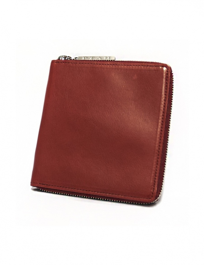 Ptah red leather card holder PT130105-RED wallets online shopping