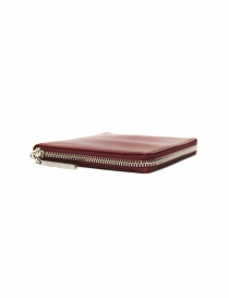 Ptah red leather card holder