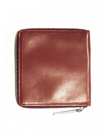 Ptah red leather card holder price