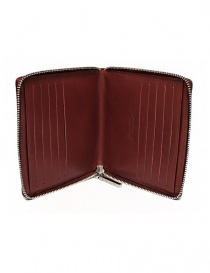 Ptah red leather card holder wallets buy online