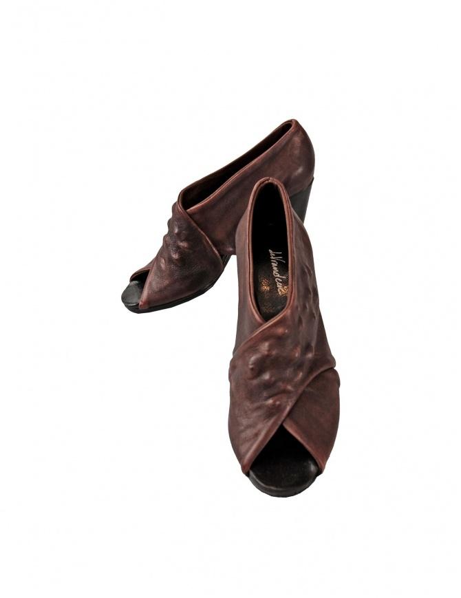 Scarpa Devrandecic in pelle marrone SEA SHELL WE calzature donna online shopping